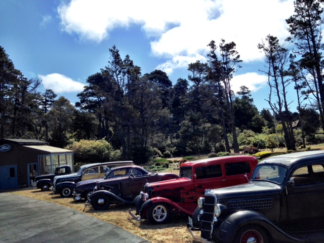 Redwood Empire Early Ford V8 Club Tour